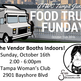 Family Food Truck Funday & Vendor Event 10/16/16 in Tampa