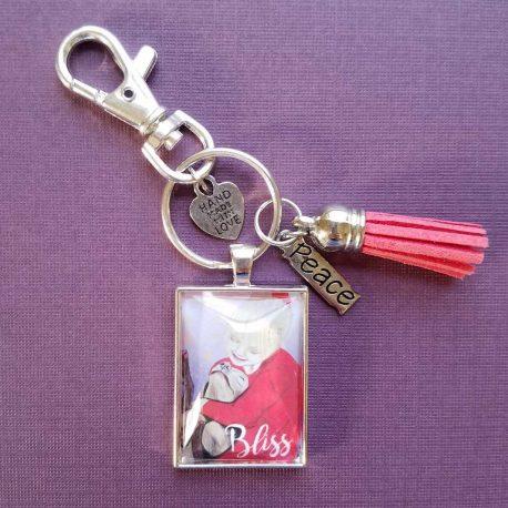 Bliss Pendant Keychain