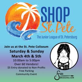 Shop St. Pete March 4-5 at Coliseum