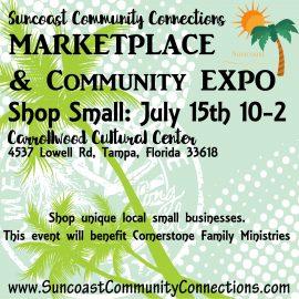 Community Marketplace & Expo! 7/15/17