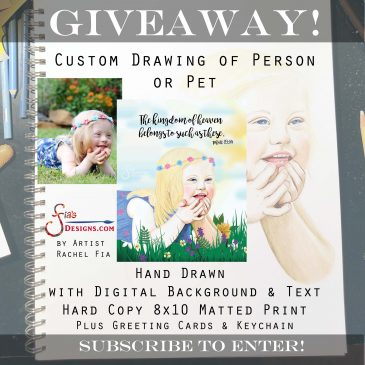 Giveaway for Custom Art Package!