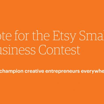 Etsy Contest!  Please Vote today!