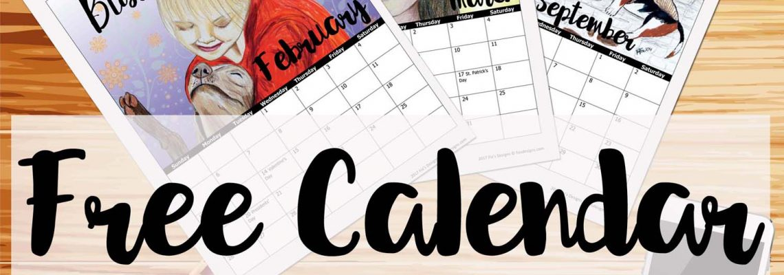 Free Art Calendar Download