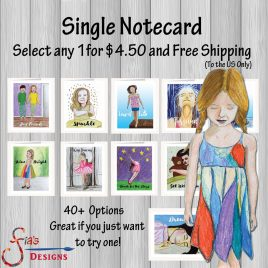 Single Notecard with Free US Shipping