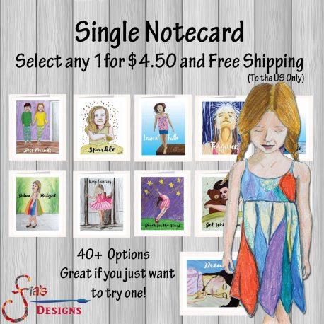 Notecards 000 Single 1 Card