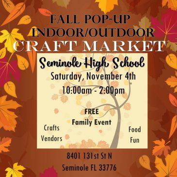 Seminole High Craft Market 11/4/17