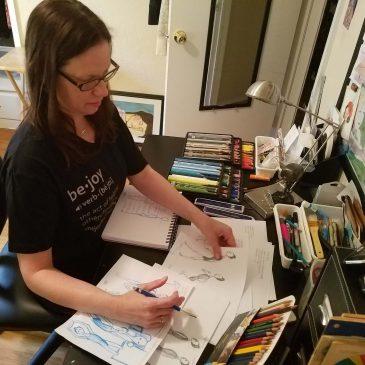 Children's Book Illustration Demo – Part 1 Character Study