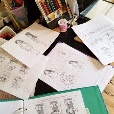 Children's Book Illustration – Part 2 Story Mapping