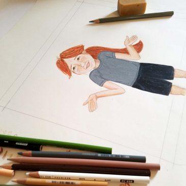Children's Book Illustration – Part 4 Test Drawings
