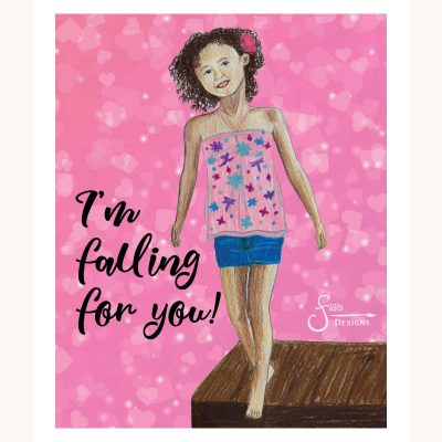 I'm falling for you!