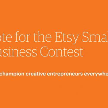 Etsy Contest!  Please Vote today!