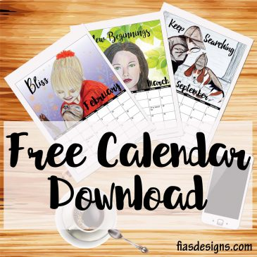 Free Art Calendar Download