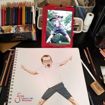 "Behind the Scenes: ""Jump"" illustration"