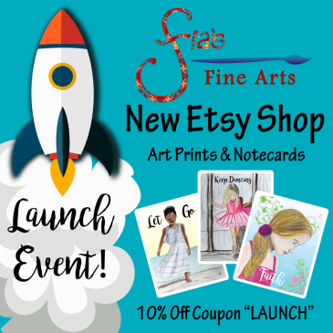 Launching New Etsy Shop for Notecards & Art Prints!