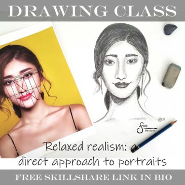 New Portrait Drawing Class